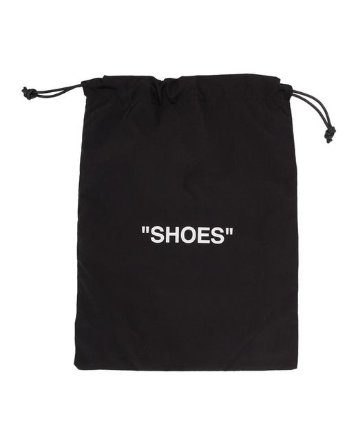 Off-White c/o Virgil Abloh ブラック And ホワイト Shoes ポーチ Black