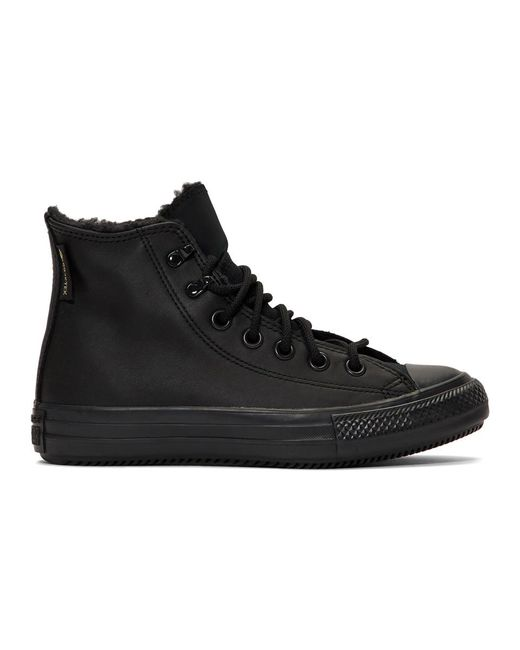 Converse ブラック Winter Chuck Taylor All Star スニーカー Black