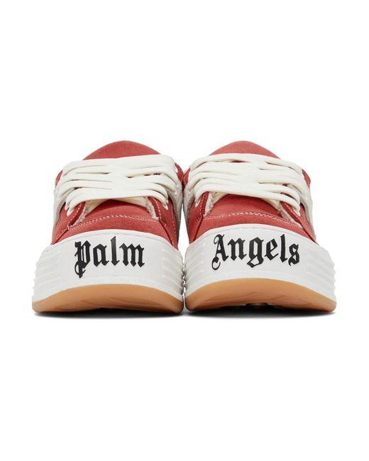 メンズ Palm Angels レッド Snow ロー トップ スニーカー Red