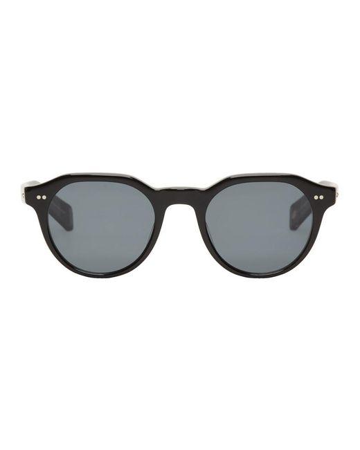 メンズ Eyevan 7285 ブラック Lubin-e サングラス Black