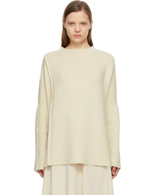 The Row オフホワイト カシミア Cordelia セーター Multicolor