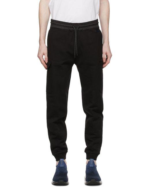メンズ Z Zegna ブラック カーゴ パンツ Black
