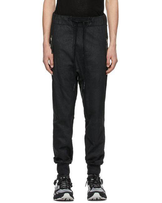 メンズ Boris Bidjan Saberi 11 ブラック P13 ラウンジ パンツ Black