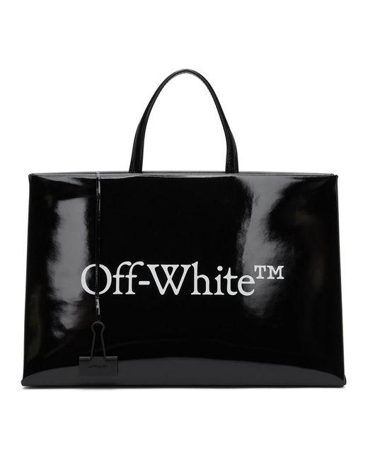 Off-White c/o Virgil Abloh ブラック ミディアム ボックス バッグ Black