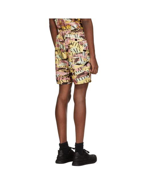 Saturdays Nyc Men's Multicolour Decade Timothy Swim Shorts
