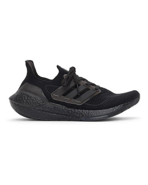 メンズ Adidas Originals ブラック Ultraboost 21 スニーカー Black