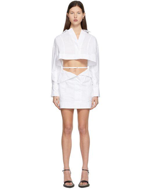 Jacquemus ホワイト La Robe Terraio ドレス White
