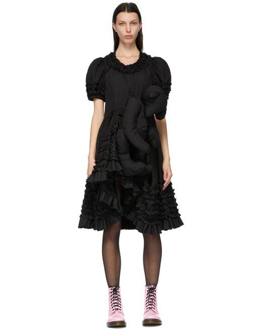 Comme des Garçons ブラック Teddy Bear ドレス Black