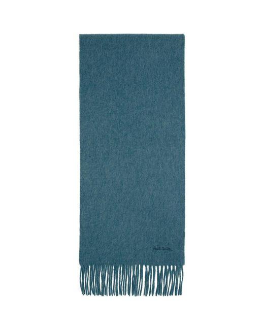 Foulard en cachemire bleu Paul Smith pour homme en coloris Blue