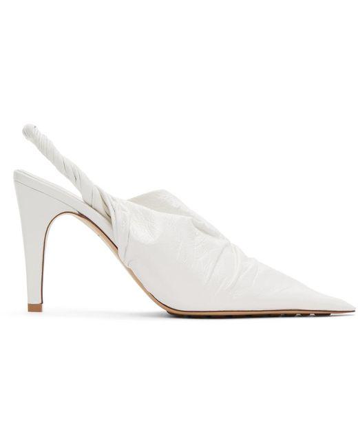 Bottega Veneta ホワイト The Point ミュール White