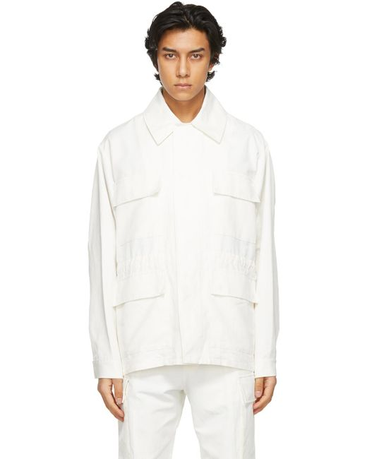 メンズ Stella McCartney Shared コレクション オフホワイト 23 Obs ジャケット White