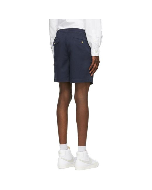 メンズ Polo Ralph Lauren ネイビー Prepster ショーツ Blue