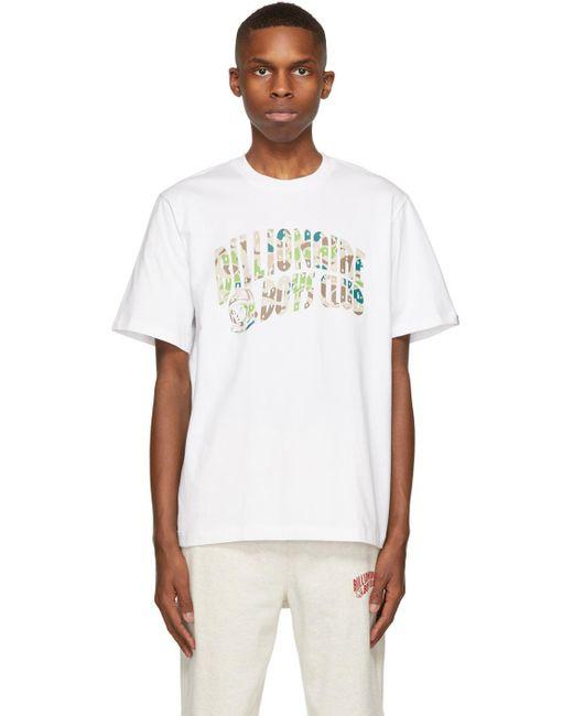 メンズ BBCICECREAM ホワイト ロゴ T シャツ White