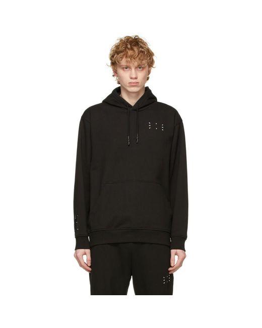 メンズ McQ Alexander McQueen No.0 コレクション ブラック Relaxed フーディ Black