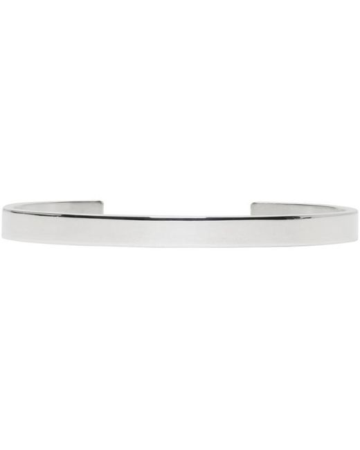 Le Gramme | Metallic Silver Polished 'le 15 Grammes' Cuff for Men | Lyst