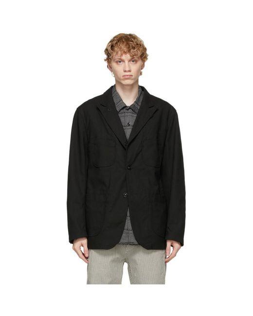 メンズ Engineered Garments ブラック Bedford ブレザー Black