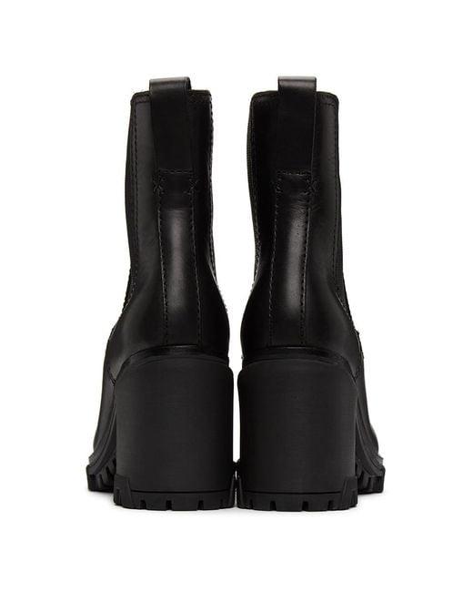 Rag & Bone Multicolor Shiloh Leather Ankle Boots