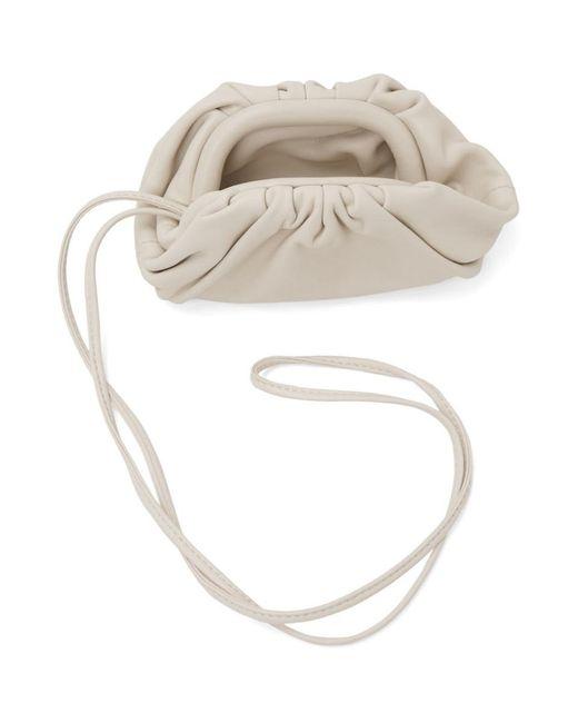 メンズ Bottega Veneta オフホワイト チャーム コイン ポーチ White