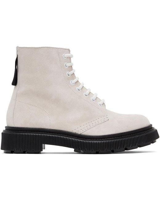 メンズ Etudes Studio Adieu エディション オフホワイト Type 129 ブーツ White
