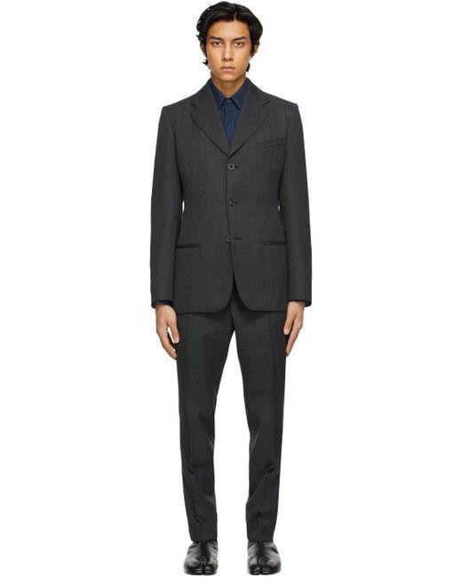 メンズ Maison Margiela グレー スーツ Gray