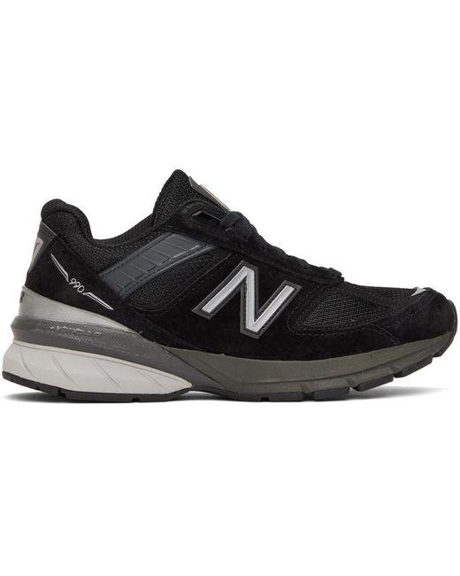 New Balance ブラック Made In Us 990v5 スニーカー Black