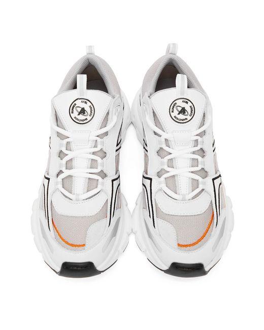 メンズ Axel Arigato Ssense 限定 ホワイト And オレンジ Marathon R-trail スニーカー White