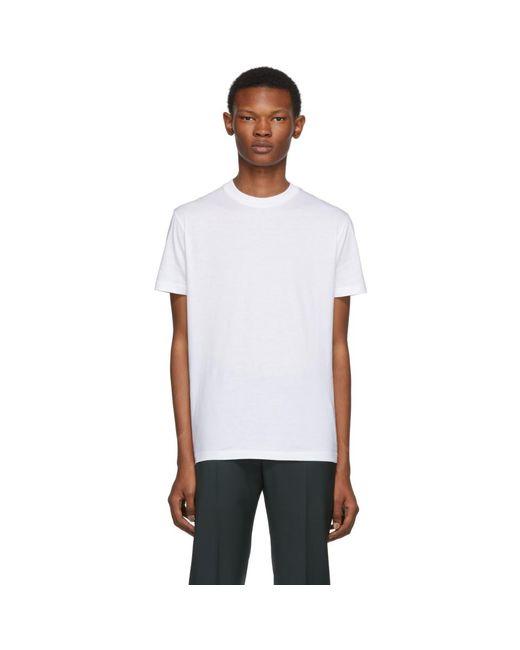 メンズ Prada ホワイト ジャージ T シャツ 3 枚 セット White