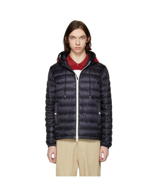 Moncler - Blue Navy Down Ceze Jacket for Men - Lyst