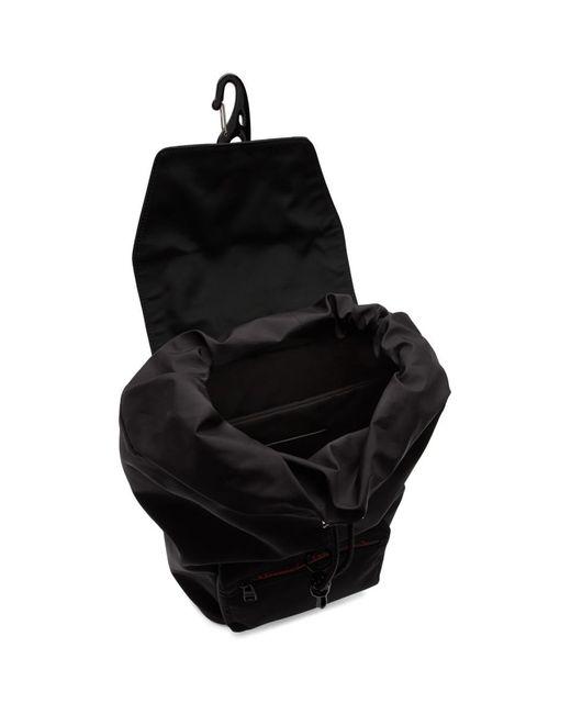 メンズ Alexander McQueen ブラック アーバン バックパック Black
