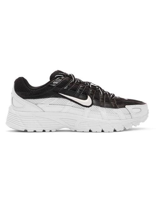 Nike ブラック And ホワイト P-6000 スニーカー Black