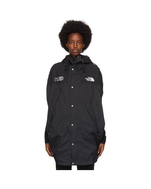 MM6 by Maison Martin Margiela The North Face Edition ブラック サークル ジャケット Black