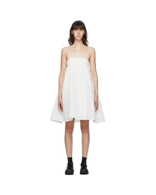 CECILIE BAHNSEN ホワイト Lisbeth ドレス White