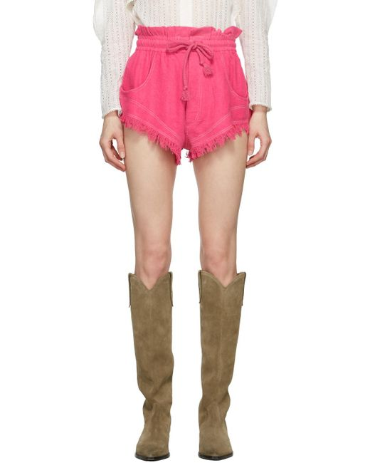 Isabel Marant ピンク Talapiz ショーツ Pink