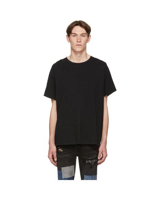 メンズ Amiri ブラック Shotgun T シャツ Black