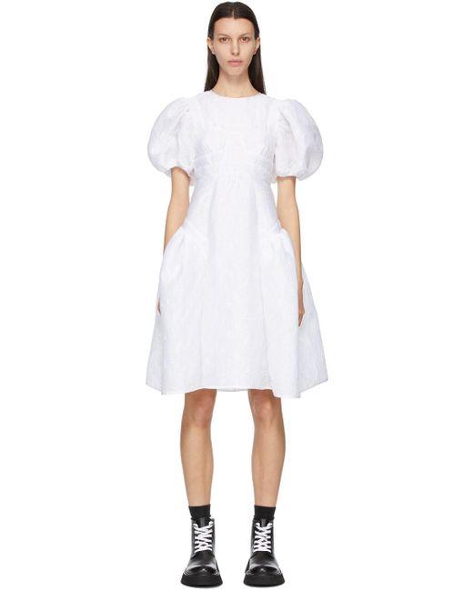 CECILIE BAHNSEN ホワイト Caitlin ドレス White