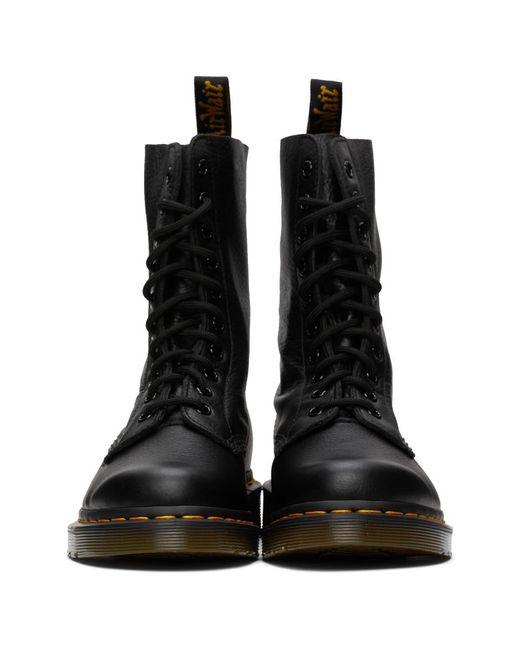 Dr. Martens ブラック Virginia ミッドカーフ ブーツ Black