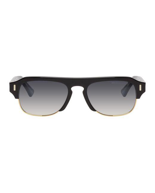 メンズ Cutler & Gross ブラック 1353-01 サングラス Black