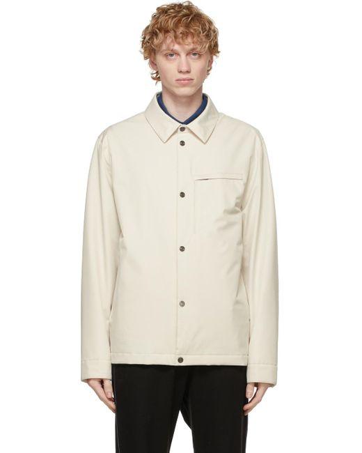 メンズ Z Zegna ホワイト #usetheexisting シャツ ジャケット White