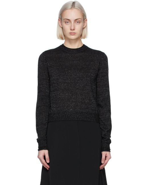 Victoria, Victoria Beckham ブラック Fitted セーター Black