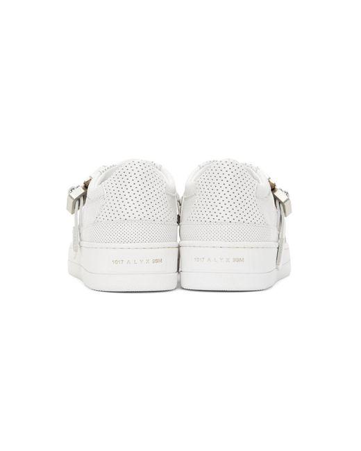 メンズ 1017 ALYX 9SM ホワイト Buckle スニーカー White
