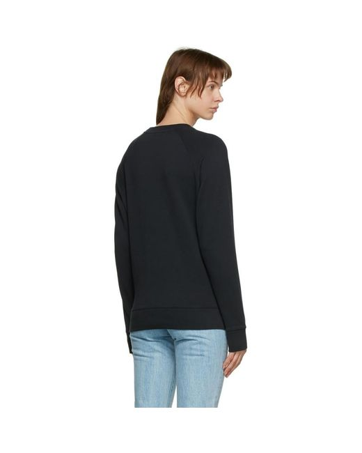 Maison Kitsuné ブラック Double Fox Head スウェットシャツ Black