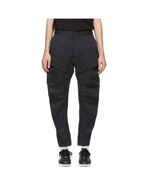 Nike - Black ブラック ウーブン テック パック カーゴ パンツ for Men - Lyst