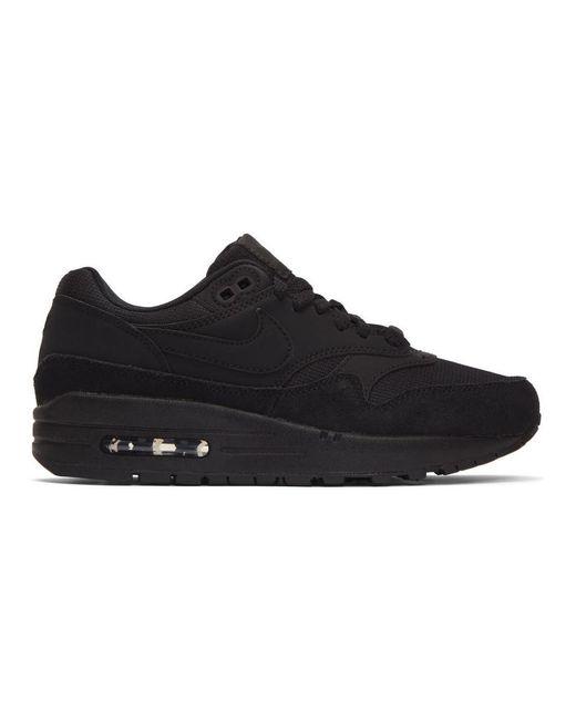 Nike ブラック エア マックス 1 スニーカー Black