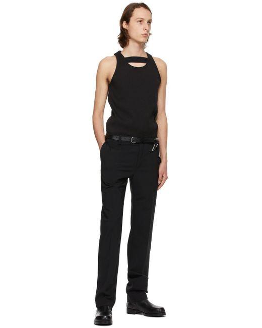 メンズ 1017 ALYX 9SM ブラック ミディアム Studded ベルト Black