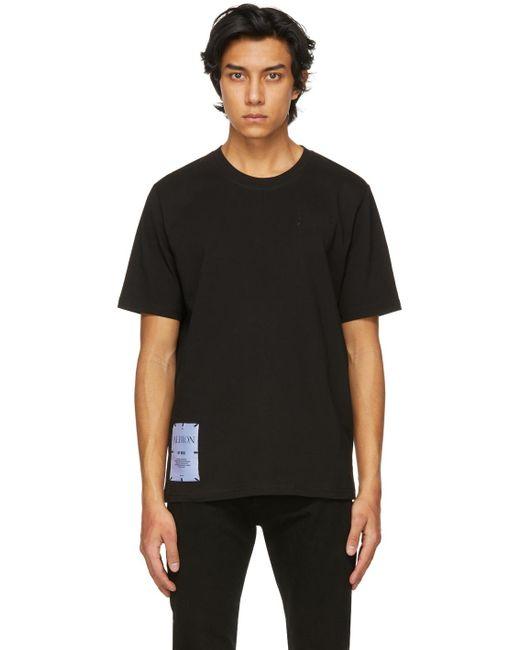 メンズ McQ Alexander McQueen Albion コレクション ブラック Regular T シャツ Black