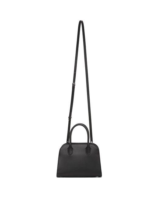 The Row ブラック Margaux 7.5 トップ ハンドル バッグ Black