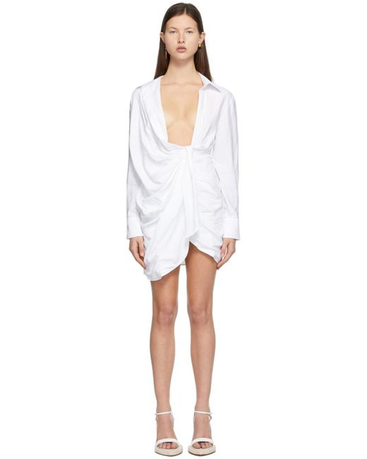 Jacquemus ホワイト La Robe Bahia ドレス White