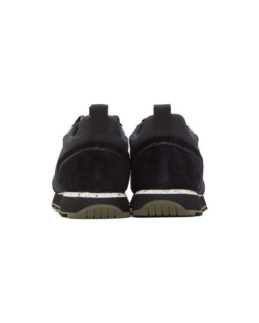 メンズ Rag & Bone ブラック レトロ ハイカー スニーカー Black