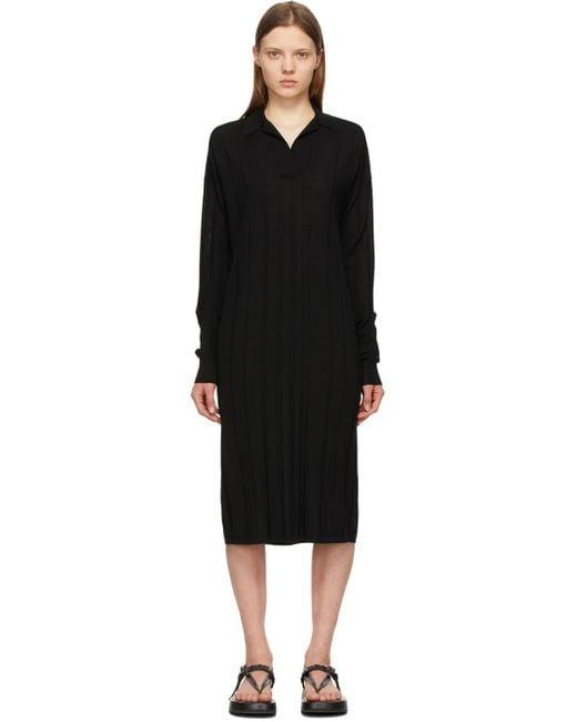 Joseph ブラック オーバーサイズ ドレス Black