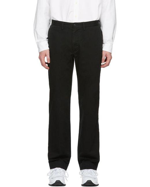 メンズ Polo Ralph Lauren ブラック Bedford トラウザーズ Black